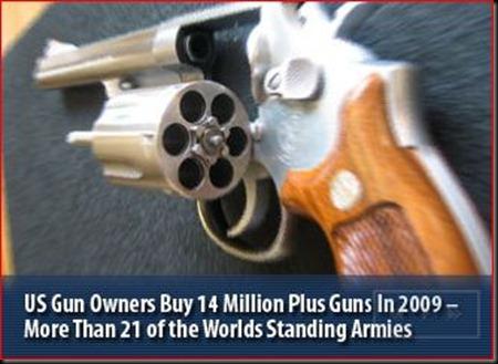 Americans buy Guns 2009