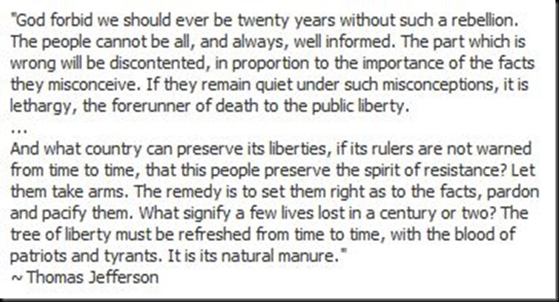 ~ Thomas Jefferson Wisdom