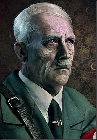 Hitler aged