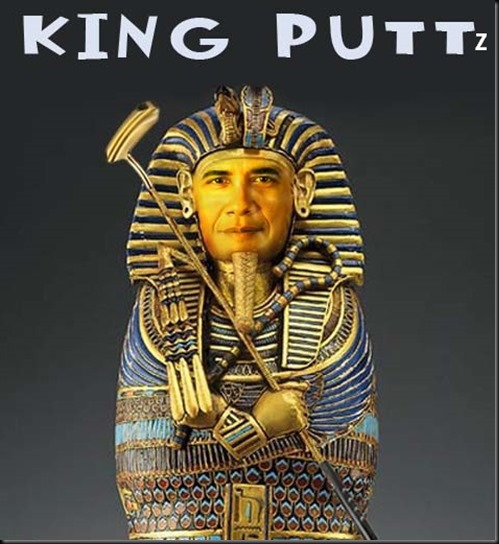 king puttz, obama cartoons