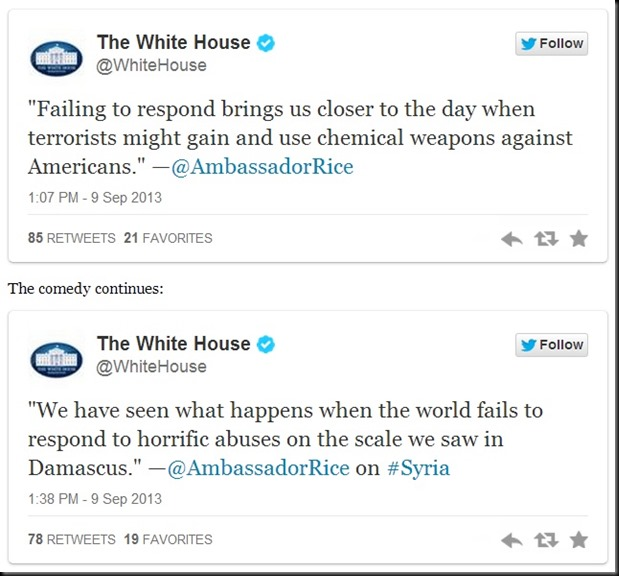 white house tweets