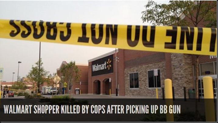 Murder ed in Walmart